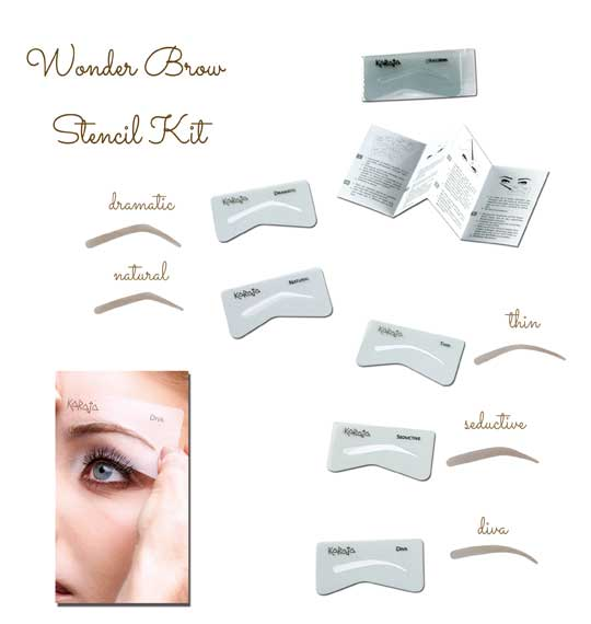 Wonder Brow Stencil Kit